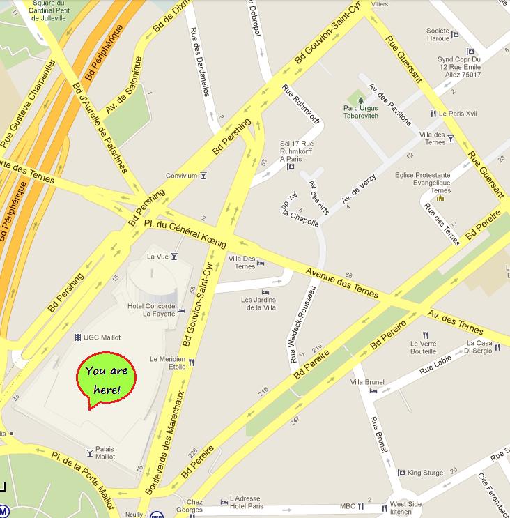 Avenue des Tarnes Area